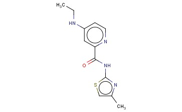 4-(ETHYLAMINO)-N-(4-METHYL-1,3-THIAZOL-2-YL)PYRIDINE-2-CARBOXAMIDE