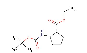 ETHYL (1R,2S)-2-(BOC-AMINO)CYCLOPENTANECARBOXYLATE