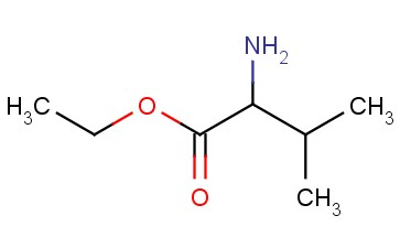 2-<span class='lighter'>AMINO</span>-3-METHYL-BUTYRIC ACID ETHYL ESTER