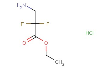 ETHYL 2,2-DIFLUORO-3-AMINOPROPANOATE HYDROCHLORIDE