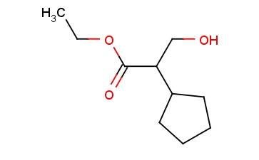 ETHYL 2-CYCLOPENTYL-3-HYDROXYPROPANOATE