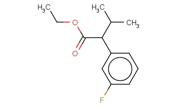 3-FLUORO-ALPHA-(1-METHYLETHYL)-BENZENEACETIC ACID, ETHYL ESTER