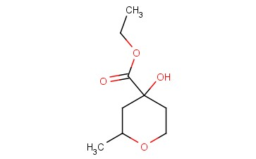 ETHYL 4-HYDROXY-2-METHYLOXANE-4-CARBOXYLATE