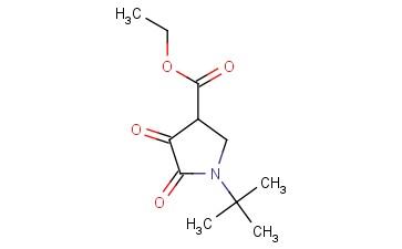 ETHYL 1-(TERT-BUTYL)-4,5-DIOXOPYRROLIDINE-3-CARBOXYLATE