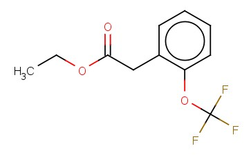 2-(TRIFLUOROMETHOXY)PHENYLACETIC ACID ETHYL ESTER