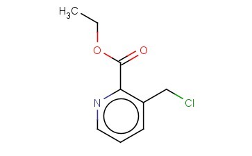 ETHYL 3-(CHLOROMETHYL)PYRIDINE-2-CARBOXYLATE