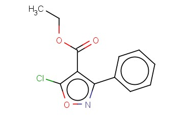 ETHYL 5-CHLORO-3-PHENYLISOXAZOLE-4-CARBOXYLATE
