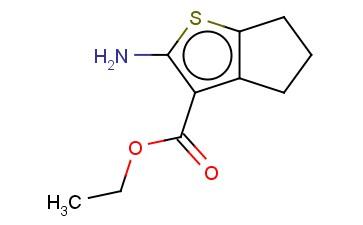2-氨基-5,6-二氢-4H-环戊并[b]噻吩-3-甲酸乙酯
