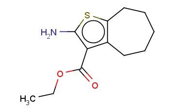 2-氨基环庚烷并[B]噻吩-3-羧酸乙酯