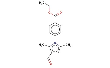 ETHYL 4-(3-FORMYL-2,5-DIMETHYL-1H-PYRROL-1-YL)BENZOATE