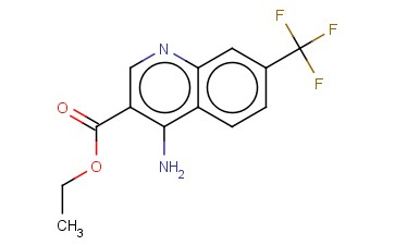 4-AMINO-7-(TRIFLUOROMETHYL)QUINOLINE-3-CARBOXYLIC ACID ETHYL ESTER