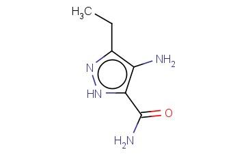 4-AMINO-3-ETHYL-1H-PYRAZOLE-5-CARBOXAMIDE