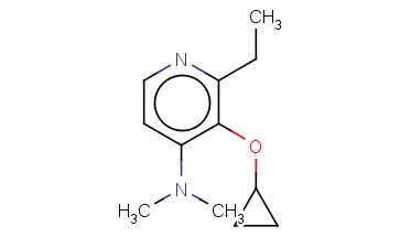 3-CYCLOPROPOXY-2-ETHYL-N,N-DIMETHYLPYRIDIN-4-AMINE