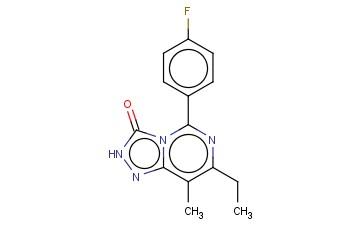 7-ETHYL-5-(4-FLUORO-PHENYL)-8-METHYL-2H-[1,2,4]TRIAZOLO[4,3-C]PYRIMIDIN-3-ONE