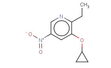 3-CYCLOPROPOXY-2-ETHYL-5-NITROPYRIDINE