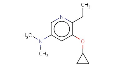 5-CYCLOPROPOXY-6-ETHYL-N,N-DIMETHYLPYRIDIN-3-AMINE