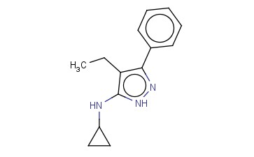 N-CYCLOPROPYL-4-ETHYL-3-PHENYL-1H-PYRAZOL-5-AMINE