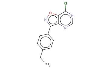 7-CHLORO-3-(4-ETHYLPHENYL)ISOXAZOLO[4,5-D]PYRIMIDINE