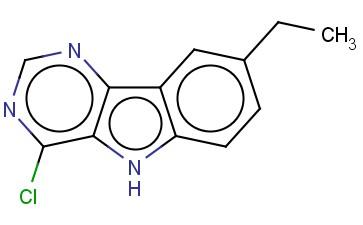 4-CHLORO-8-ETHYL-5H-PYRIMIDO[5,4-B]INDOLE