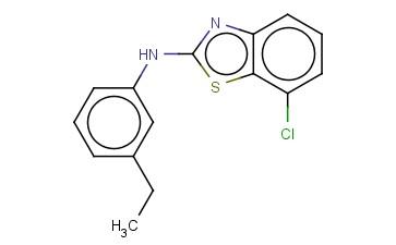 7-CHLORO-N-(3-ETHYLPHENYL)-1,3-BENZOTHIAZOL-2-AMINE