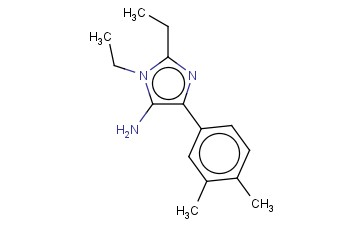 4-(3,4-DIMETHYLPHENYL)-1,2-DIETHYL-1H-IMIDAZOL-5-AMINE