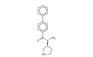 N-METHYL-N-(3S)-3-PYRROLIDINYL-[1,1'-BIPHENYL]-4-CARBOXAMIDE