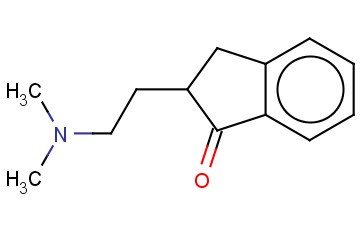 2-[2-(DIMETHYLAMINO)ETHYL]-1-INDANONE