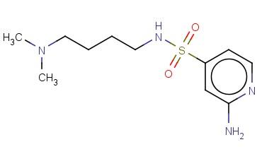 2-AMINO-N-[4-(DIMETHYLAMINO)BUTYL]PYRIDINE-4-SULFONAMIDE