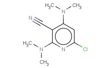2 4-BIS(DIMETHYLAMINO)-6-CHLOROPYRIDINE-3-CARBONITRILE