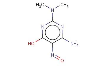 4-AMINO-2-DIMETHYLAMINO-6-HYDROXY-5-NITROSOPYRIMIDINE