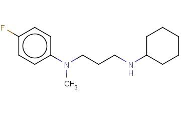 N-[3-(CYCLOHEXYLAMINO)PROPYL]-4-FLUORO-N-METHYLANILINE