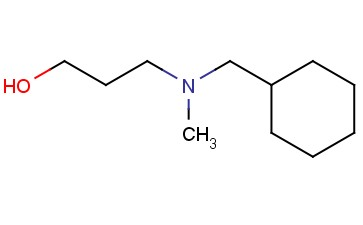 3-[(CYCLOHEXYLMETHYL)(METHYL)AMINO]PROPAN-1-OL
