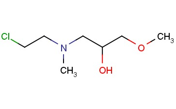 (2-CHLOROETHYL)(2-HYDROXY-3-METHOXYPROPYL)METHYLAMINE