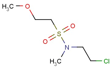 N-(2-CHLOROETHYL)-2-METHOXY-N-METHYLETHANE-1-SULFONAMIDE