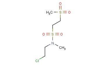N-(2-CHLOROETHYL)-2-METHANESULFONYL-N-METHYLETHANE-1-SULFONAMIDE
