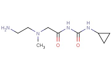 3-(2-[(2-AMINOETHYL)(METHYL)AMINO]ACETYL)-1-CYCLOPROPYLUREA