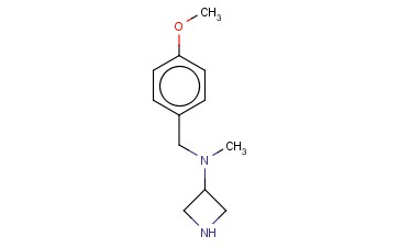 N-[(4-METHOXYPHENYL)METHYL]-N-METHYLAZETIDIN-3-AMINE