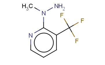 N-[3-(TRIFLUOROMETHYL)PYRID-2-YL]-N-METHYL-HYDRAZINE