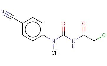 3-(2-CHLOROACETYL)-1-(4-CYANOPHENYL)-1-METHYLUREA