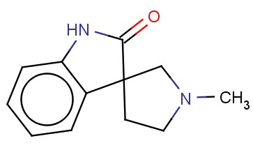 1'-METHYL-SPIRO[3H-INDOLE-3,3'-PYRROLIDIN]-2(1H)-ONE