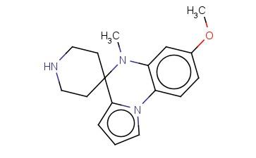 7'-METHOXY-5'-METHYL-5'H-SPIRO[PIPERIDINE-4,4'-PYRROLO[1,2-A]QUINOXALINE]