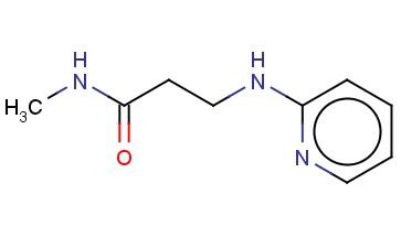 N-METHYL-3-[(PYRIDIN-2-YL)AMINO]PROPANAMIDE
