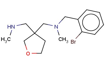 [(2-BROMOPHENYL)METHYL](METHYL)((3-[(METHYLAMINO)METHYL]OXOLAN-3-YL)METHYL)AMINE