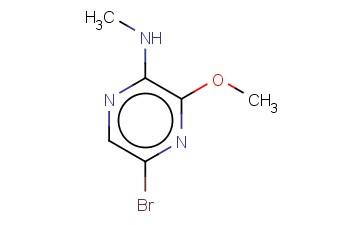 5-BROMO-3-METHOXY-N-METHYLPYRAZIN-2-AMINE