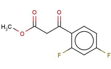 3-(<span class='lighter'>2,4-DIFLUOROPHENYL</span>)-3-OXO-PROPIONIC ACID METHYL ESTER