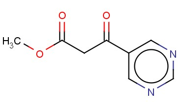 5-PYRIMIDINEPROPANOIC ACID, B-OXO-, METHYL ESTER