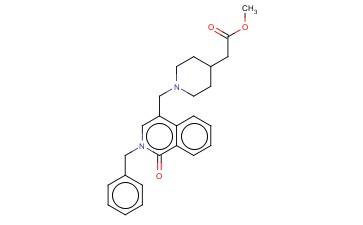 2-[1-(2-BENZYL-1-OXO-1,2-DIHYDROISOQUINOLIN-4-YLMETHYL)PIPERIDIN-4-YL]ACETIC ACID METHYL ESTER