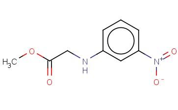 METHYL 2-[(3-NITROPHENYL)AMINO]ACETATE