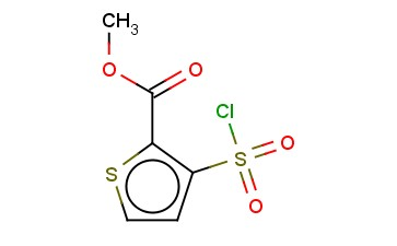 Methyl 3-chlorosulfonylthiophene-2-carboxylate