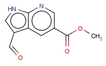 METHYL 3-FORMYL-1H-PYRROLO[2,3-B]PYRIDINE-5-CARBOXYLATE
